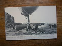"""Réédition ... Le Ballon Dirigeable """" La Ville De Paris """" L'hélice Articulée Placée à L'avant De La Nacelle - Airships"""