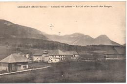 Leschaux (Haute-Savoie) - Altitude 930 Mètres - Le Col Et Les Massifs Des Bauges - France