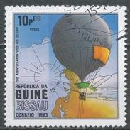 Guinea-Bissau 1983. Scott #446 (U) Manned Flight (Hot Air Balloon) Bicentenary * - Guinée-Bissau