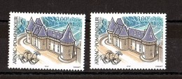 1999 - Cheminées Violettes - N° 3279 Neuf ** - Arnac-Pompadour - Château - Varieteiten: 1990-99 Postfris