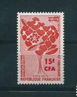 Timbre De Réunion De 1972  409   Neuf ** Parfait Sans Charnière - Reunion Island (1852-1975)