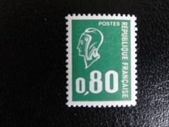 YT 1891c - 0,80 F Gomme Tropicale - 1971-76 Marianne De Béquet