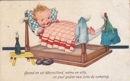 """"""" Quand On Est Débrouillard,même En Ville ,on Peut Goûter Aux Joies Du Camping"""" - 1900-1949"""