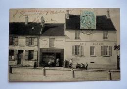02 - Rare Carte BEZU-ST- GERMAIN - Café CORE - Petite Animation - Otros Municipios