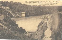 86 Limousin Les Gorges De La Diege Les ChaumettesVue Aval Du Barrage De L'usine De Val Beneyte - Other Municipalities
