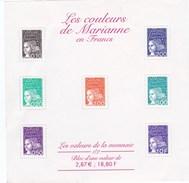 France Bloc ** Les Couleurs De Marianne . BF N°41 Cote YT 2011  7€00 - Mint/Hinged