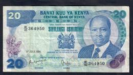 Kenia 20 Shillingi 1984   LOTTO 132 - Kenia