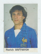 Patrick Battiston (France) : Portrait Joueur De Football En 1990 (lanimé) GF - Sportifs