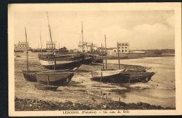 LESCONIL - Finistère - Un Coin Du Steîr -cpsm Sépia Voyagée 1935 -  Scans Recto Verso - Paypal Sans Frais - Lesconil