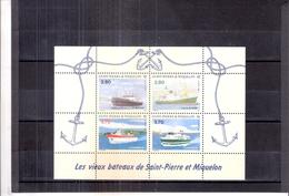 St.Pierre & Miquelon - BF.4 - XX/MNH (à Voir) - Blocs-feuillets