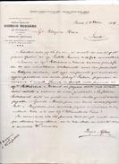 """Rovereto (Trento) - Lettera Della Ditta """" Giorgio Rossaro"""" Datata 18.10.1905 - (FDC4139) - Italia"""