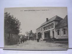 62 - BIENVILLERS AU BOIS - GRANDE RUE - ANIMEE - 1924 - Francia
