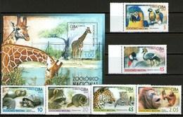 Cuba Francobolli Animali Zoo - Cuba