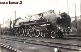 CARTE PHOTO : SAINT-CHAMOND LOCOMOTIVE TRAIN GARE 42 LOIRE L. HERMANN - Saint Chamond