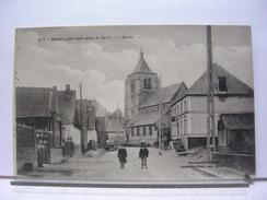 62 - BIENVILLERS AU BOIS - L'EGLISE - ANIMEE - ENFANTS - 1923 - Francia