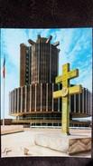 CPSM CRETEIL 94 L HOTEL DE VILLE CROIX DE LORRAINE GENERAL DE GAULLE ED LYNA - Creteil