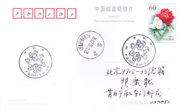 CHINA OFFICIAL POST CARD COMMERCIALLY USED 2003 - SPECIAL CANCELLATION - 1949 - ... People's Republic