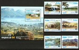 Cuba Francobolli Expo Mondiale Filatelia Malaga Spagna 2006 - Unused Stamps