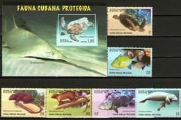 Cuba Francobolli Fauna Protetta Protegida - Cuba
