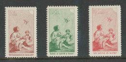 SUISSE 1912 -  PRO JUVENTUTE Précurseurs NEUFS - 3 Valeurs NEUFS * MLH/ ** MNH - RARE - Pro Juventute