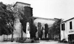 CPSM -47- ROMESTAING LE MONUMENT AUX MORTS L EGLISE - Other Municipalities