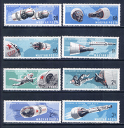 HUNGARY 1966 2299-2306 COSMOS - Space