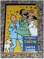 """Rare Jeu De Cartes NEUF BD Hergé Tintin, Moulinsart, Haddock Tournesol Milou """"La Famille De Tintin"""" - Jeux De Société"""