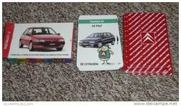 Rare Jeu De Cartes Des 7 Familles, CITROEN Automobiles, Citroën Saxo ZX - Jeux De Société