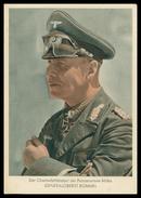 WAR 1939-45 - O Comandante Do Exército Panzer  Africa. Generaloberst Rommel.   Cartes  Postales - Guerre 1939-45