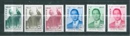 Timbres Du Maroc  De 1957  N°374 A 379  Complet   Neufs** - Morocco (1956-...)