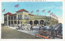OCEAN CITY MUNICIPAL MUSIC PIER 1937 - Ocean City