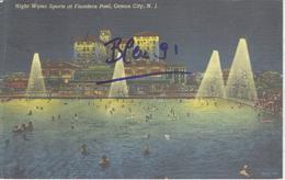 OCEAN CITY WATER SPORTS AT FLANDERS POOL 1954 - Ocean City
