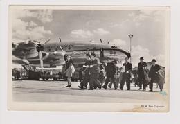 Vintage Pc KLM K.L.M Royal Dutch Airlines Lockheed Constellation L-049 Schiphol Airport - 1919-1938: Fra Le Due Guerre