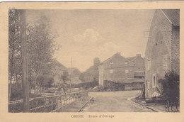 Oreye - Route D'Otrange (animée, Edit Henri Kaquet, 1920, Rare) - Oreye
