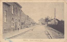 Oreye - Grand' Route De L'Etat (animée, Edit Henri Kaquet, Rare) - Oreye