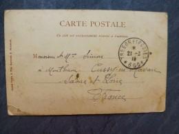 Trésor Et Postes 600 Sur CP 1919CANA, En Galilée (pour Cussy-en-Morvan) ;  Ref 489  Phil11 - Poststempel (Briefe)