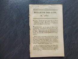 PREMIER EMPIRE, Fabrication Nouvelles CARTES à JOUER, Entremont (Mont-Blanc) Etc  ;  Ref 502 VP 27 - Historische Dokumente
