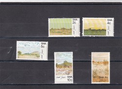 Sudoeste Africano Nº 313 Al 317 - África Del Sur (1961-...)