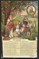 Germany WW1 Kaiser Germania 'Die Ostwacht' Rossler Patriotic Postcard - Patriotic