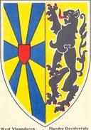 CHROMO VEEN FRERES - RUE APOLLON, 150, BERCHEM-ANVERS - DRAPEAUX ET TIMBRES - N°10 - FLANDRE OCCIDENTALE - Süsswaren