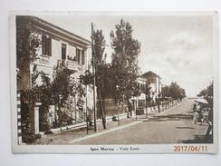 Postcard Igea Marina Viale Ennio Near Rimini My Ref B2963 - Rimini