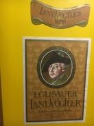 3908 - Salomon Landolt Landvogt Von Eglisau Eglisauer Landvögter 1986 Suisse - Etiquettes