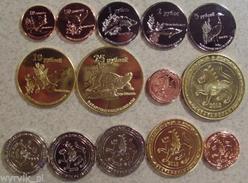 TATARSTAN 2013 Set Of 7 Coins UNC - Tatarstan