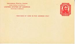 US UX 25  ** - Postal Stationery