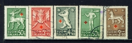 FINLAND  -  1942  Red Cross  Set  Used As Scan - Used Stamps