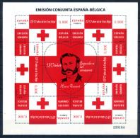 Spain 2013 España / Red Cross Henri Dunant Joint Issue Belgium MNH Cruz Roja / Id25   34 - Rode Kruis
