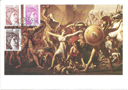 CARTE MAXIMUM 1er JOUR - N° 2118 à 2120 - SABINE - Cartes-Maximum