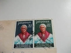 STORIA POSTALE FRANCOBOLLO COMMEMORATIVO FILIPPINE PILIPINAS SHOOTING THE RAPIDS - Filippine