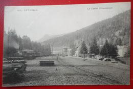 CPA 15 CANTAL LE LIORAN - LA STATION LA GARE ET LE SOMMET DU PUY GRIOU  1904 Ed ROUX Aurillac - France