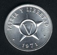 Kuba, 5 Centavos 1971, UNC - Cuba